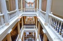 The hotel Les trois Couronnes