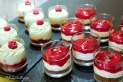 Creamy fruit puddings