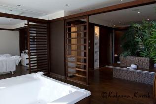 The private unique Givenchy SPA at le Mirador Resorst & SPA hotel