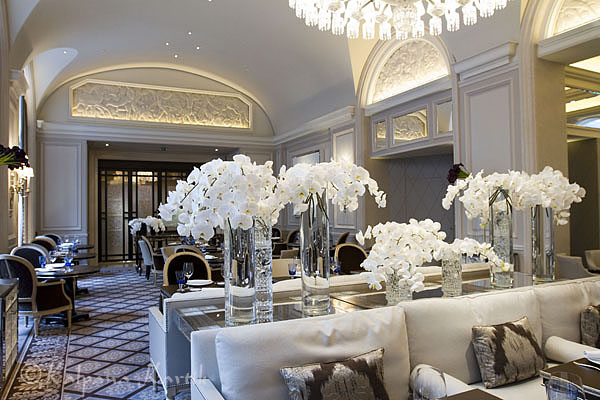 Le George restaurant of George V Hotel, Paris