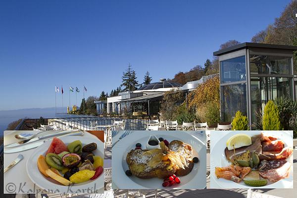 Breakfast feast at Le Mirador Resort & SPA hotel