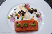 Japanes style salmon
