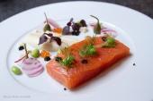 Japanese style salmon