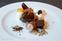 Mont Blanc Josefin style with old Cuban rum flavoured chesnut cream