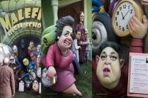 School of Malefics corrupted Mayor of Valencia Rita Nolla and Kim Jong Un