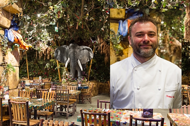 Fabrice Duranel Chief cook of Rainforest Cafe at Disney Village Marne La Vallee
