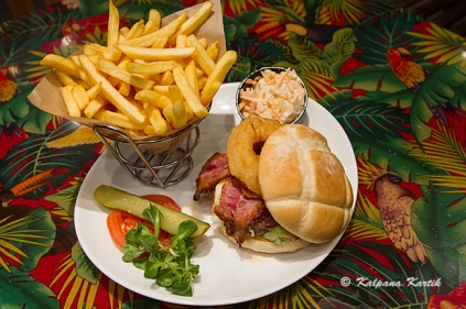 French burger de luxe