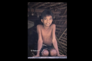 A boy from the island of Sumba