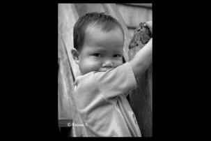 A Dayak boy from Borneo Kalimantan