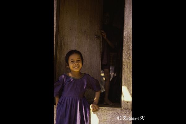 Little Baduy girl