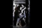 Erotic carvings at Ellora caves