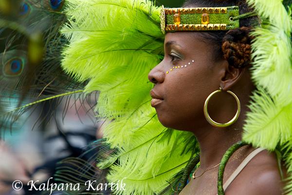 Tropical carnival inParis