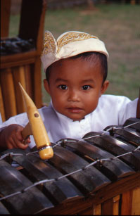 Learning how to play the gamelan